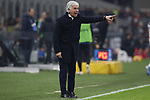 Gian Piero Gasperini Head coach of Atalanta shouts directions to his players during the Serie A match at Giuseppe Meazza, Milan. Picture date: 11th January 2020. Picture credit should read: Jonathan Moscrop/Sportimage