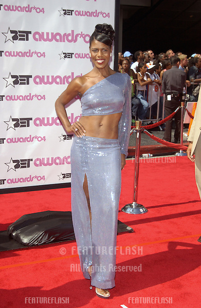 OMAROSA MANIGAULT-STALLWORTH at the 2004 BET (Black Entertainment TV) Awards at the Kodak Theatre, Hollywood..June 29, 2004