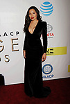 PASADENA, CA - FEBRUARY 11: Actress Jurnee Smollett-Bell arrives at the 48th NAACP Image Awards at Pasadena Civic Auditorium on February 11, 2017 in Pasadena, California.