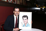 Robert Fairchild attends 'An American In Paris' Sardi's Caricature Unveiling at Sardi's on May 28, 2015 in New York City.