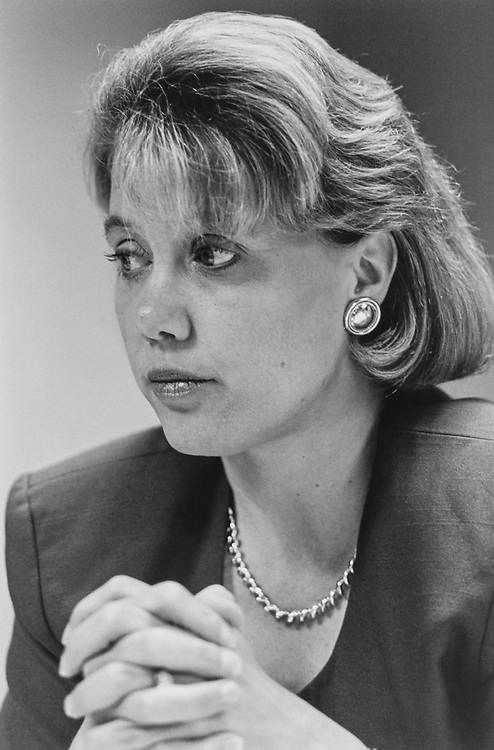 Sen. Mary Landrieu, D-La., in 1996. (Photo by Maureen Keating/CQ Roll Call via Getty Images)