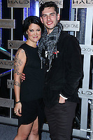 HOLLYWOOD, LOS ANGELES, CA, USA - NOVEMBER 10: Kiki Wolfkill, Alex Baht arrive at the HaloFest - Halo: The Master Chief Collection Launch Event held at Avalon on November 10, 2014 in Hollywood, Los Angeles, California, United States. (Photo by Xavier Collin/Celebrity Monitor)