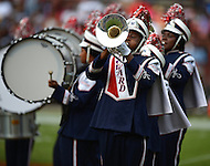 September 7, 2013  (Washington, DC) The Howard University Marching Band performs during halftime at the AT&T Nations Football Classic between Howard and Morehouse. (Photo by Don Baxter/Media Images International)