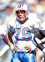 Houston Oilers, Ray Childress(79) in action during a game against the San Diego Chargers on September 19, 1993 at Jack Murphy Stadium In San Diego, California. The Chargers beat the Oilers 18-17.