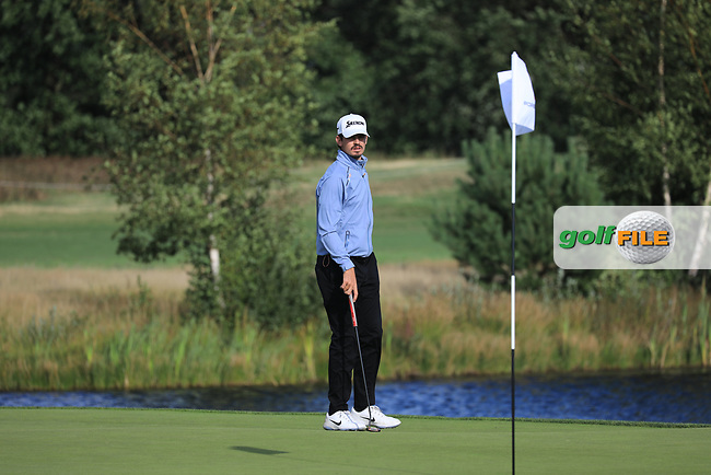 Pedro Figueiredo (POR) in action during the first round of the Porsche European Open , Green Eagle Golf Club, Hamburg, Germany. 05/09/2019<br /> Picture: Golffile | Phil Inglis<br /> <br /> <br /> All photo usage must carry mandatory copyright credit (© Golffile | Phil Inglis)