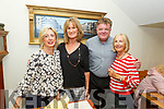Enjoying the evening in Bella Bia on Thursday.<br /> L to r: Ann Sherry, Mary Murphy, Ger O'Connor and Mary Hicks.