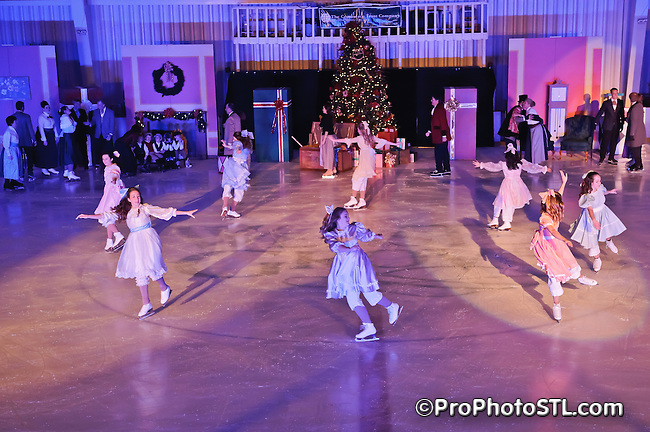 The Nutcracker on Ice presented by Metro Edge Figure Skating Club at Webster Grove Ice Arena in St. Louis, MO on Dec 11, 2011.