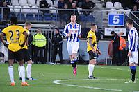 VOETBAL: HEERENVEEN: Abe Lenstra Stadion 04-04-2015, SC Heerenveen - NAC, uitslag 0-0, Henk Veerman (#20), ©foto Martin de Jong