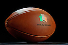 Aug. 9, 2012; Game ball for Notre Dame vs Navy in Dublin, Ireland...Photo by Matt Cashore/University of Notre Dame