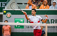 Paris, France, 01 June, 2018, Tennis, French Open, Roland Garros, Novak Djokovic (SRB)<br /> Photo: Henk Koster/tennisimages.com
