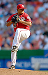 17 June 2006: Chad Cordero, pitcher for the Washington Nationals, on the mound against the New York Yankees at RFK Stadium, in Washington, DC. The Nationals overcame a seven run deficit to win 11-9 in the second game of the interleague series...Mandatory Photo Credit: Ed Wolfstein Photo...