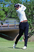 So Yeon Ryu (KOR) watches her tee shot on 2 during round 4 of  the Volunteers of America Texas Shootout Presented by JTBC, at the Las Colinas Country Club in Irving, Texas, USA. 4/30/2017.<br /> Picture: Golffile | Ken Murray<br /> <br /> <br /> All photo usage must carry mandatory copyright credit (&copy; Golffile | Ken Murray)