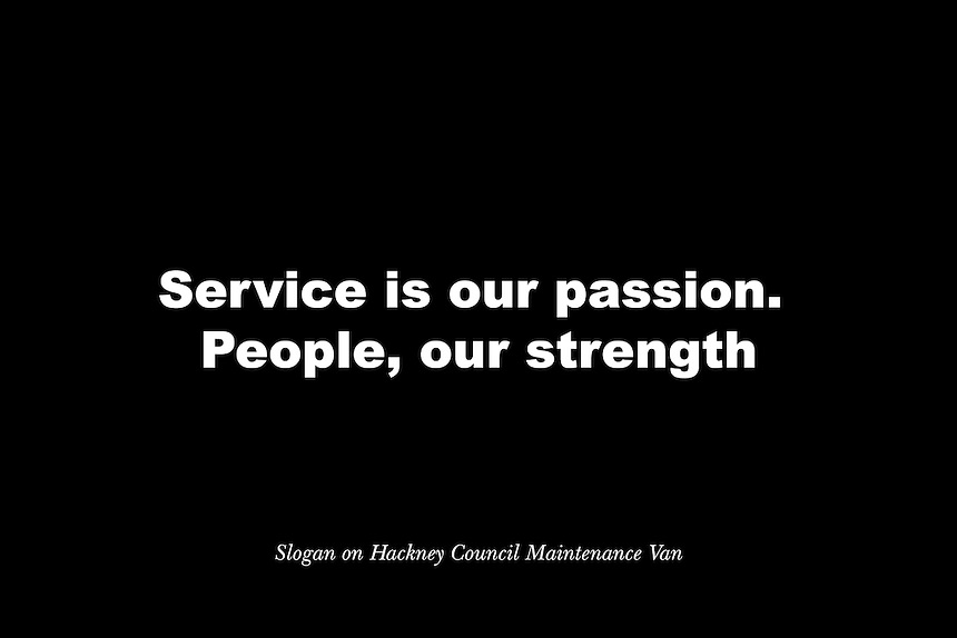 "The Customer Service Standard on the Hackney Homes website reads: ""We aim to deliver excellent customer service by putting our customers at the centre of everything we do and by having regard to the diverse needs of the communities to which they belong."" Hackney Homes are responsible for the management of all council housing in Hackney."