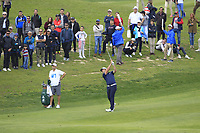 Jon Rahm (ESP) on the 12th fairway during Round 3 of the Open de Espana 2018 at Centro Nacional de Golf on Saturday 14th April 2018.<br /> Picture:  Thos Caffrey / www.golffile.ie<br /> <br /> All photo usage must carry mandatory copyright credit (&copy; Golffile | Thos Caffrey)
