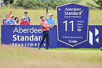 Oliver Wilson (ENG) on the 11th during Round 2 of the Aberdeen Standard Investments Scottish Open 2019 at The Renaissance Club, North Berwick, Scotland on Friday 12th July 2019.<br /> Picture:  Thos Caffrey / Golffile<br /> <br /> All photos usage must carry mandatory copyright credit (© Golffile | Thos Caffrey)