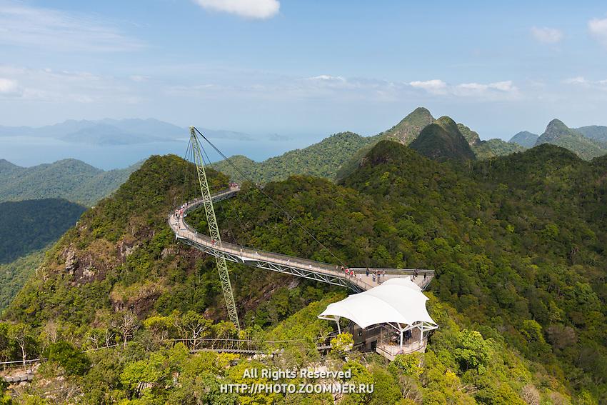 Sky Bridge, suspension bridge, Langkawi