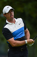 Rory McIlroy (NIR) watches his tee shot on 4 during Rd3 of the 2019 BMW Championship, Medinah Golf Club, Chicago, Illinois, USA. 8/17/2019.<br /> Picture Ken Murray / Golffile.ie<br /> <br /> All photo usage must carry mandatory copyright credit (© Golffile   Ken Murray)