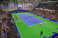 Rotterdam, Netherlands, December 20, 2015,  Topsport Centrum, Lotto NK Tennis, Final mens single Overall vieuw<br /> Photo: Tennisimages/Henk Koster