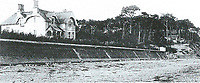 BNPS.co.uk (01202 558833)<br /> Pic: PHT/BNPS<br /> <br /> 1880 - The Sandbanks Hotel is one of the earliest buildings on the exclusive peninsula.<br /> <br /> Plans to transform the millionaire's resort of Sandbanks into 'Britain's Miami Beach' with two new superhotel's and apartments as part of a &pound;250m development have been unveiled. <br /> <br /> A pair of century-old hotels on the exclusive Dorset peninsula will be bulldozed to make way for an extravagant five star hotel on the beach and a smaller hotel with apartments on the cliffs above.<br /> <br /> The luxurious 175 room establishment will replace the existing Sandbanks Hotel, a former Victorian seaside villa built in the 1880s that is now 'coming to the end of its economic life cycle.'<br /> <br /> In keeping with the Miami Beach look, the super hotel will be Art-Deco in style, have curved floors and painted white with palm trees in the grounds.<br /> <br /> The existing historic Harbour Heights Hotel will also be demolished to make way for the second part of the radical development.