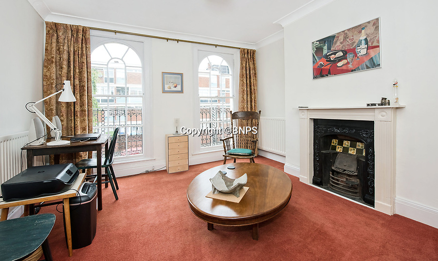 BNPS.co.uk (01202 558833)<br /> Pic: Mundays/BNPS<br /> <br /> Safe as houses...<br /> <br /> A stylish-looking Georgian townhouse that was once home to a Victorian condom factory has emerged for sale for a whopping £1.2m.