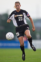 Margaret Tietjen of the Power. The Boston Breakers defeated the NY Power 3-2 on 8/01/03 at Mitchel Athletic Complex, Uniondale, NY..