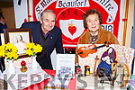 Mick Foley and Bridie Shanahan Beaufort at the Kerry Club day in Killarney Racecourse on Sunday