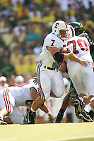 2 September 2006: Toby Gerhart during Stanford's 48-10 loss to the Oregon Ducks at Autzen Stadium in Eugene, OR.