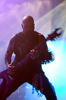 Slayer performing at Vodafone Arena, Melbourne, 15 April 2007