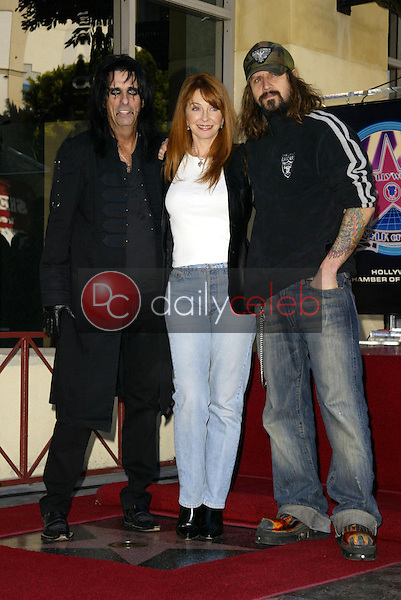 Alice Cooper, Cassandra Peterson and Rob Zombie