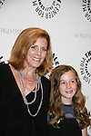 Liz Keifer (on the panel) with her daughter Isabella at the Goodbye to Guiding Light, 72 Years Young on August 19, 2009 at the Paley Center for Media, NYC, NY. (Photo by Sue Coflin/Max Photos)