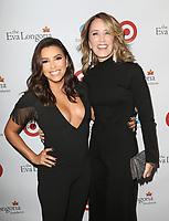BEVERLY HILLS, CA - OCTOBER 12: Eva Longoria and Felicity Huffman at the Eva Longoria Foundation Gala at The Four Seasons Beverly Hills in Beverly Hills, California on October 12, 2017. Credit: Faye Sadou/MediaPunch