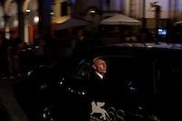 Venezia: l'attore russo Anton Adasinskiy, attore protagonista nel film Faust, arriva al palazzo del cinema durante la sessantottesima edizione della mostra del cinema di Venezia
