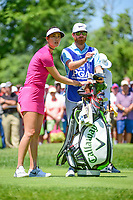 Michelle Wie (USA) prepares to tee off on 2 during Saturday's round 3 of the 2017 KPMG Women's PGA Championship, at Olympia Fields Country Club, Olympia Fields, Illinois. 7/1/2017.<br /> Picture: Golffile | Ken Murray<br /> <br /> <br /> All photo usage must carry mandatory copyright credit (&copy; Golffile | Ken Murray)