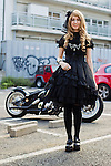 August 27, 2012, Tokyo, Japan - Ni, 22, Exchange Student. Today's fashion point - chiffon dress. Favorite brand - Atelier Pierrot and Alice and the Pirates. Favorite fashion style - Gothic lolita. Favorite place - Harajuku.(Photo by Christopher Jue/Nippon News)