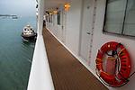 Transiting the Panama Canal, Panama