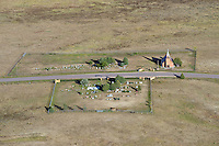 Church and St. Mary Cemetery. 6 miles north of Calhan, Colorado.  Calhan Highway. Oct 2014.  817253