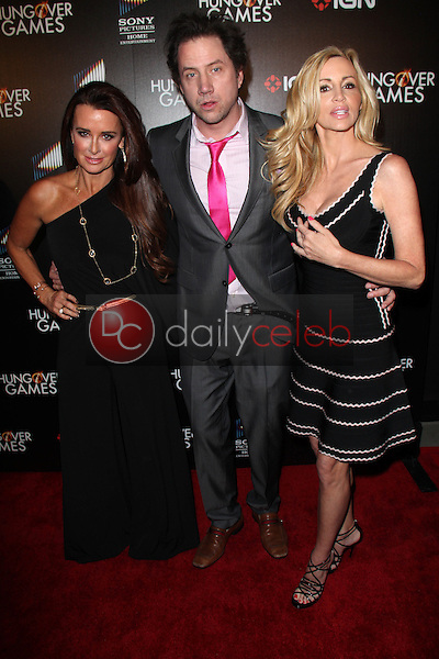 Kyle Richards, Jamie Kennedy, Camille Grammer<br />