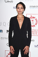 Madeleine Mantock at the 2017 London Critics' Circle Film Awards held at the Mayfair Hotel, London. <br /> 22nd January  2017<br /> Picture: Steve Vas/Featureflash/SilverHub 0208 004 5359 sales@silverhubmedia.com