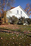 Antrim Grange during the autumn months...Located in Antrim, New Hampshire USA