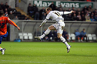 Pictured: Mark Gower of Swansea City in action<br /> Re: Coca Cola Championship, Swansea City FC v Reading at the Liberty Stadium. Swansea, south Wales, Saturday 17 January 2009<br /> Picture by D Legakis Photography / Athena Picture Agency, Swansea 07815441513
