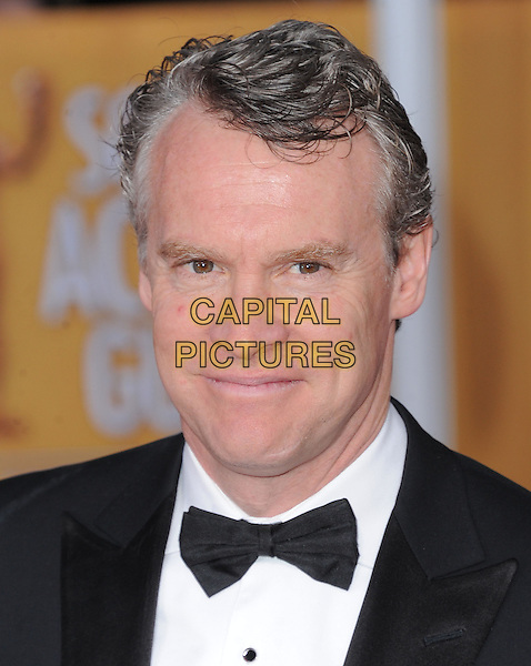Tate Donovan.Arrivals at the 19th Annual Screen Actors Guild Awards at the Shrine Auditorium in Los Angeles, California, USA..27th January 2013.SAG SAGs headshot portrait black white bow tie shirt  tuxedo .CAP/DVS.©DVS/Capital Pictures.