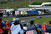 #4 Corvette Racing Chevrolet Corvette C7.R, GTLM: Oliver Gavin, Tommy Milner, #86 Michael Shank Racing with Curb-Agajanian Acura NSX, GTD: Katherine Legge, Alvaro Parente