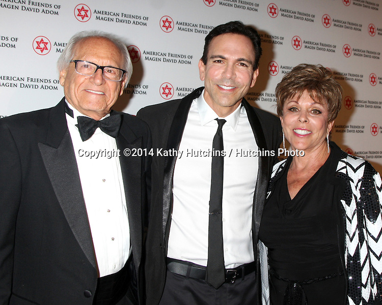 LOS ANGELES - OCT 23:  Dr. William Dorfman at the American Friends of Magen David Adom's Red Star Ball at Beverly Hilton Hotel on October 23, 2014 in Beverly Hills, CA