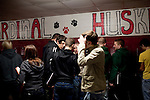 Students at Cardinal High School in Middlefield, Ohio.