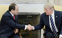 APR 03 Trump Welcomes Al Sisi of Egypt