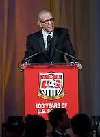 Dan Flynn. US Soccer held their Centennial Gala at the National Building Museum in Washington DC.