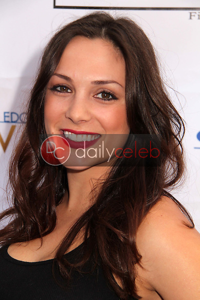 """Sarah Wahl<br /> at the4 """"Edge of Salvation"""" Premiere, Arclight, Hollywood, CA 12-06-12<br /> David Edwards/DailyCeleb.com 818-249-4998"""