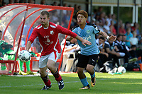 ANNEN - Voetbal, Annen - FC Groningen, voorbereiding seizoen 2017-2018, 09-07-2017, FC Groningen speler Ritsu Doan