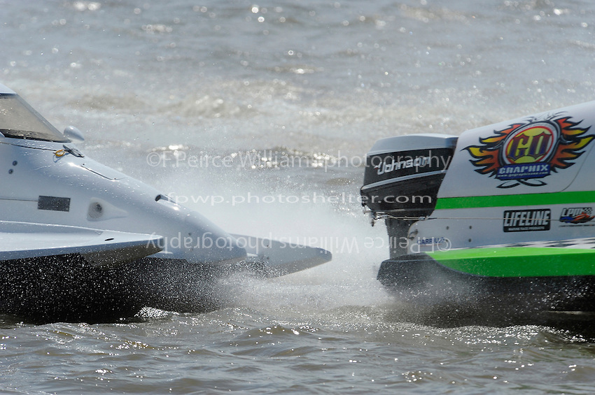 Close call: Rob Rinker, (#10) AND Jose Mendana, Jr., (#94) ALMOST TOUCH DURING THE START.`C`