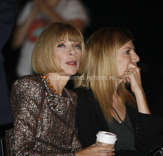 WWW.ACEPIXS.COM . . . . .  ....September 17 2009, New York City....Anna Wintour at Mercedes Benz New York Fashion Week on September 17, 2009 in New York City.....Please byline: NANCY RIVERA - ACEPIXS.COM.... *** ***..Ace Pictures, Inc:  ..tel: (212) 243 8787..e-mail: info@acepixs.com..web: http://www.acepixs.com